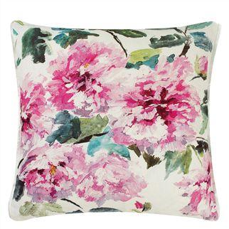 Flower Cushions, Pink Cushions, Designer Cushions