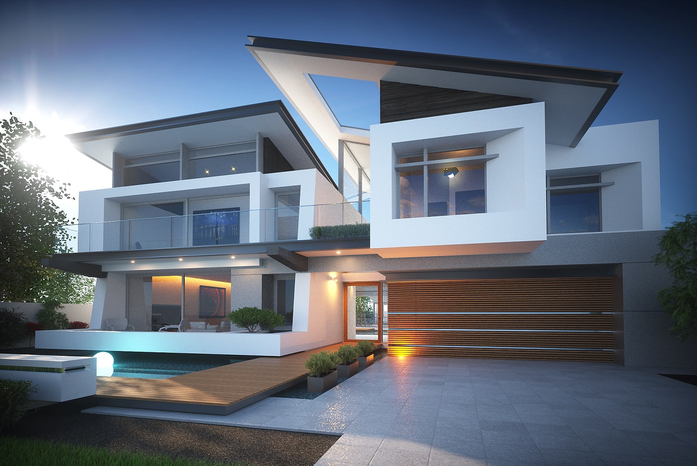 Contemporary custom homes perth custom homes perth for Custom build house online