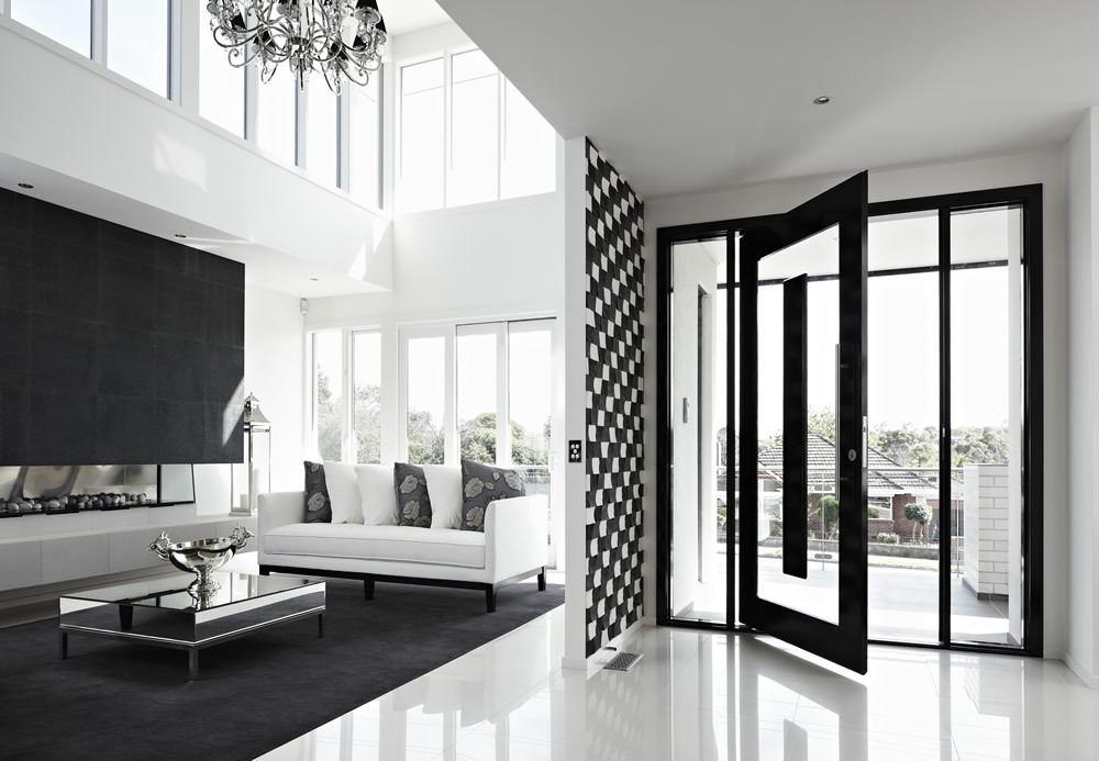 Black and White in Balwyn