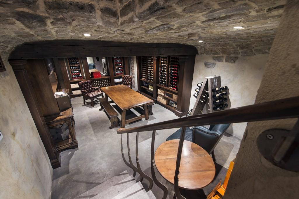 Rustic Underground Cellar