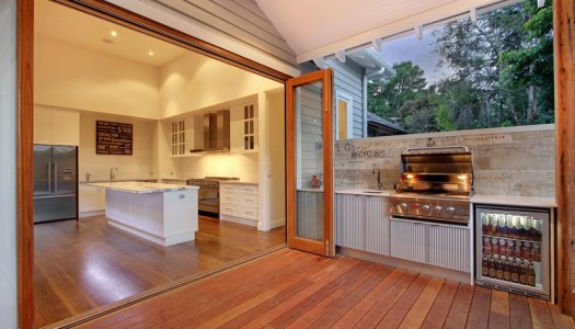 Modern Yet Timeless Weatherboard Oasis