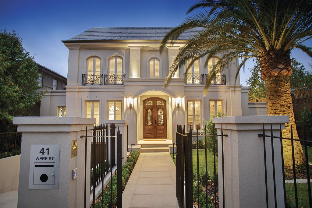 French provincial homes melbourne for French provincial home designs