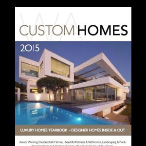 WA Custom Homes 2015