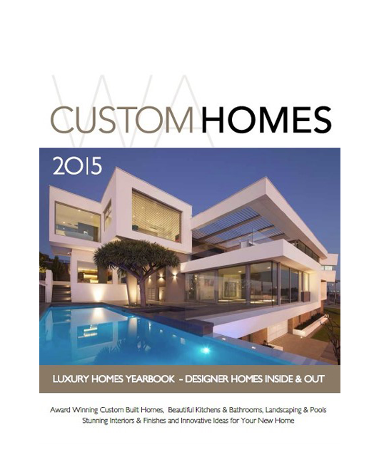 Wa custom homes magazine buy online for Custom home online