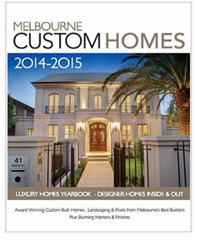 Melbourne custom homes magazine subscription custom for Luxury home design magazine