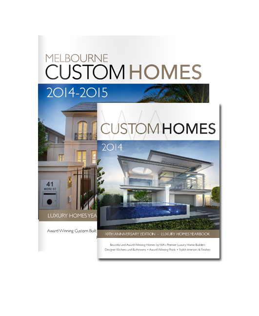 Melbourne custom homes wa custom homes magazine 2014 15 for Custom home online