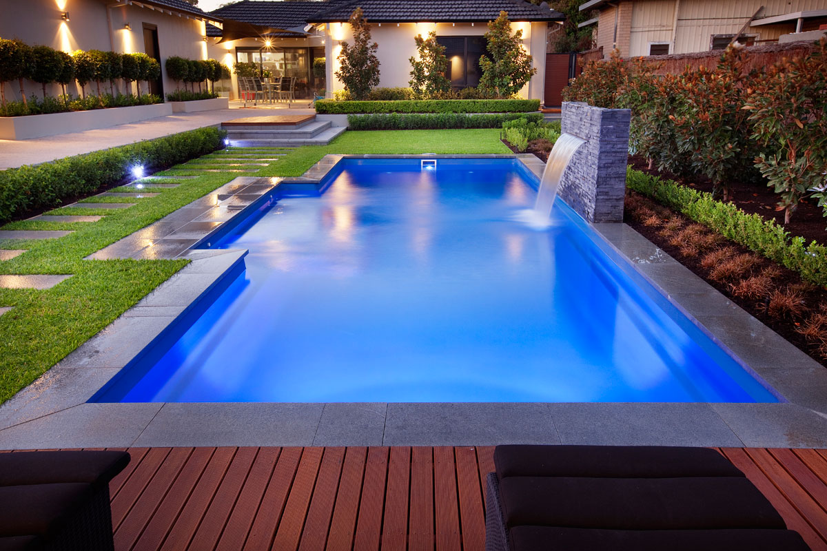 Award winning pools perth for Water pool design