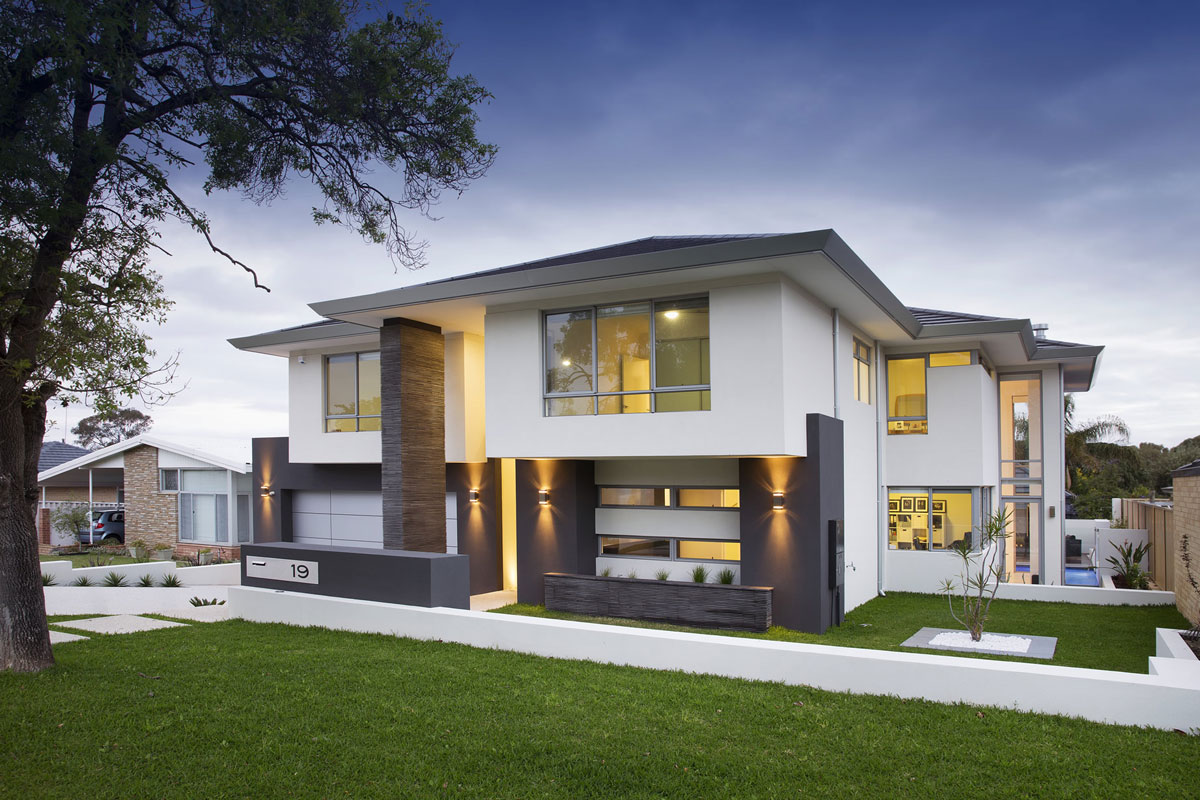 Sloping blocks home designs perth sloping block homes for Custom home online