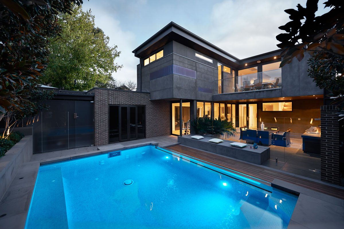 Custom pools melbourne for Custom home online