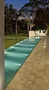 Custom_Homes_Ultracourts_Pool_night
