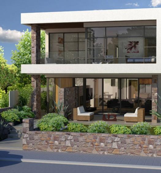 Block Home Designs Narrow: Narrow Block Home Designs