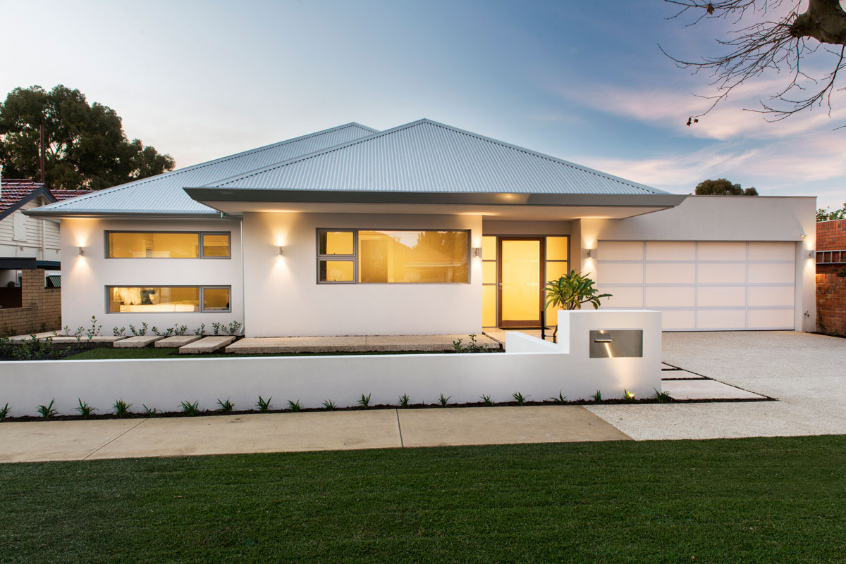 Classic contemporary homes perth custom homes perth for Custom home online