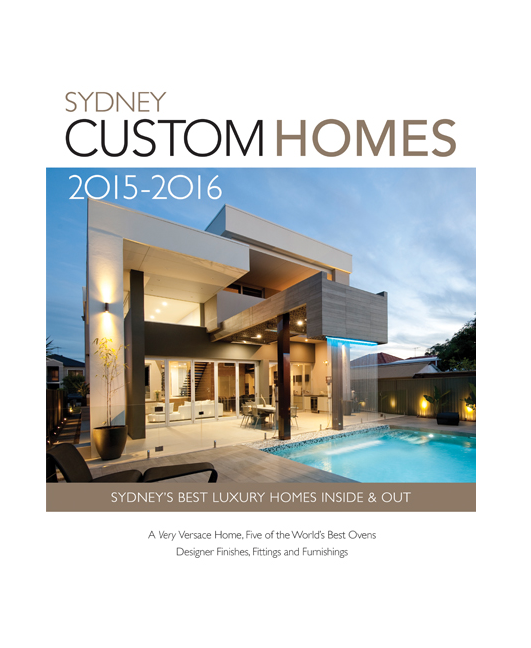 Sydney custom homes annual yearbook 2015 16 buy online for Custom home online