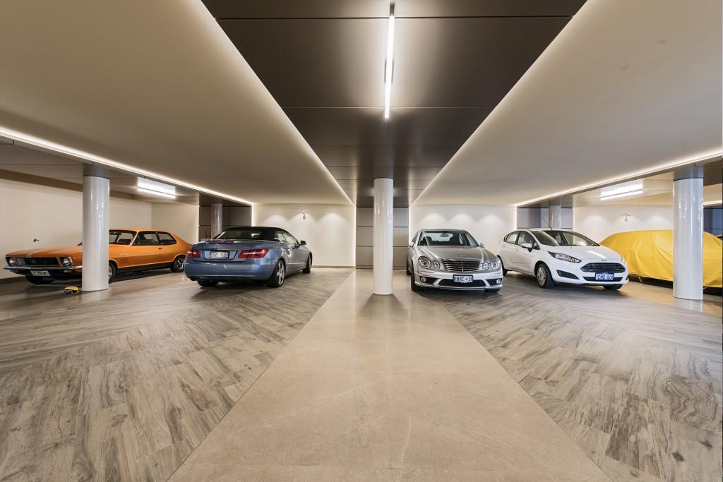 luxurious home garage