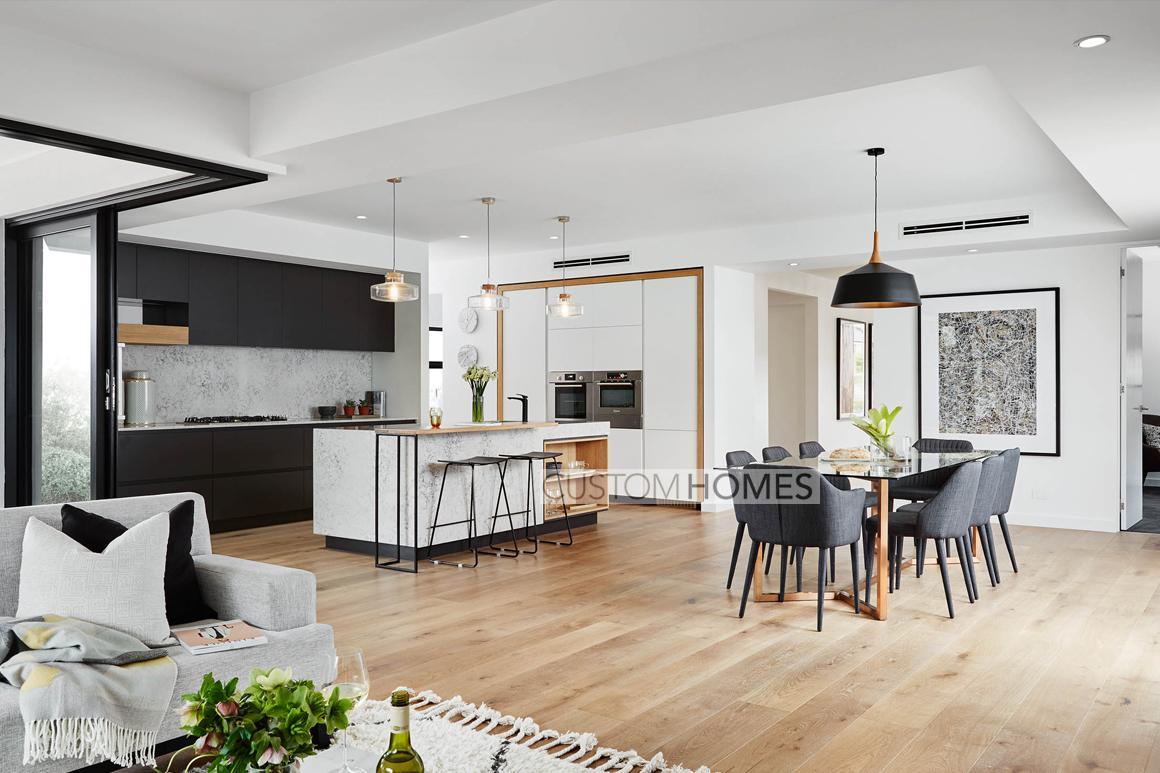 Custom homes melbourne langham by carter grange for Online custom home builder