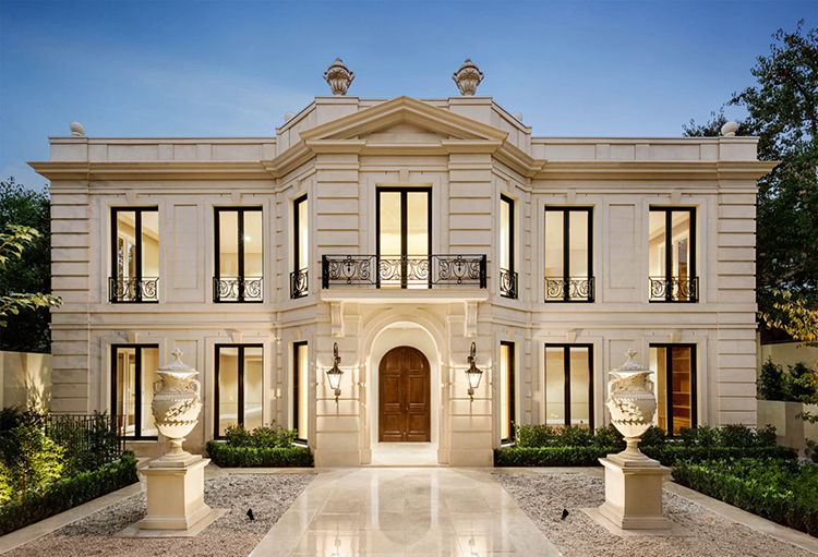 Custom homes melbourne luxury toorak mansion for Custom home online