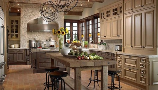 25 Opulent French Provincial Kitchens