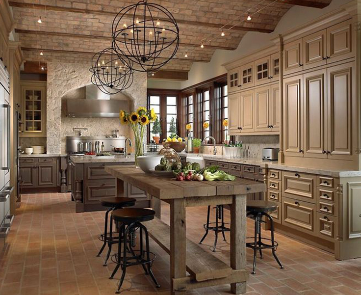French Provincial French Provincial Kitchens