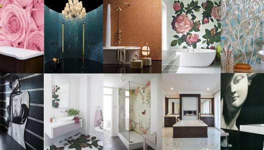 10 Stunning Mosaic Tiled Bathrooms