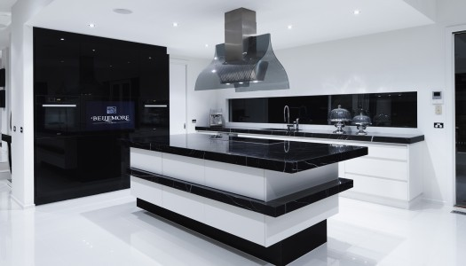 10 Beautiful Black Kitchens