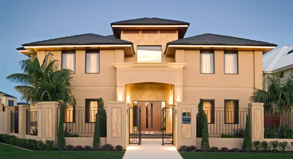 Modern external residence elevation joy studio design for Online home builder
