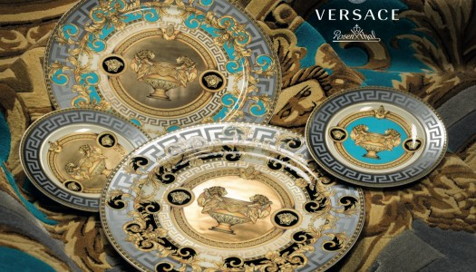 Dining With New Versace Tableware