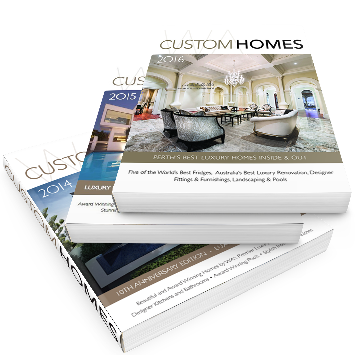 WA CUSTOM HOMES MAGAZINE