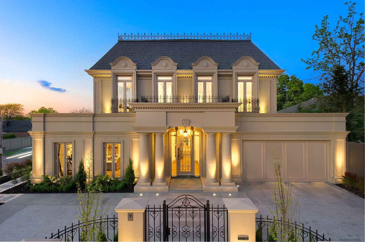 French provincial facades for French luxury