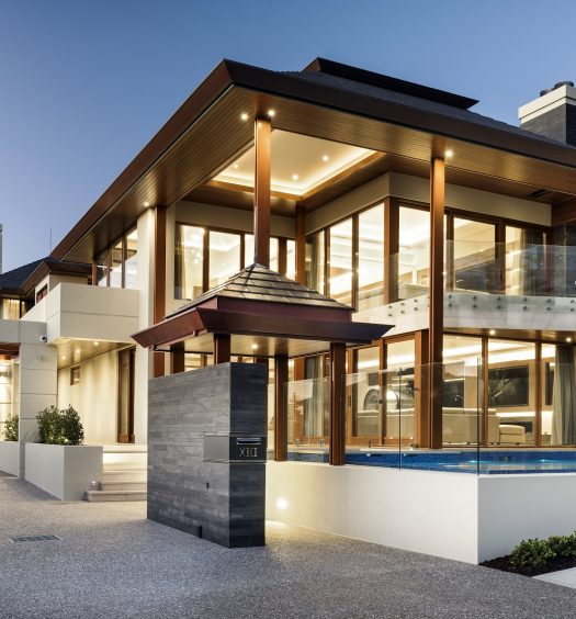 Unique Luxury Homes: THE VILLA SERENE By Averna Homes
