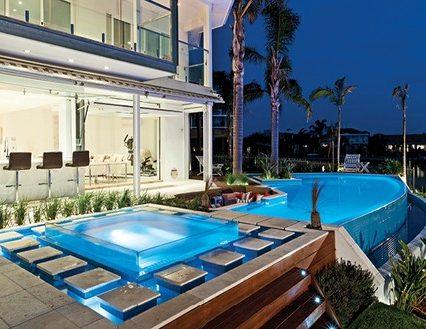 Custom Pool Design Luxury Custom Pools Custom Homes Magazine