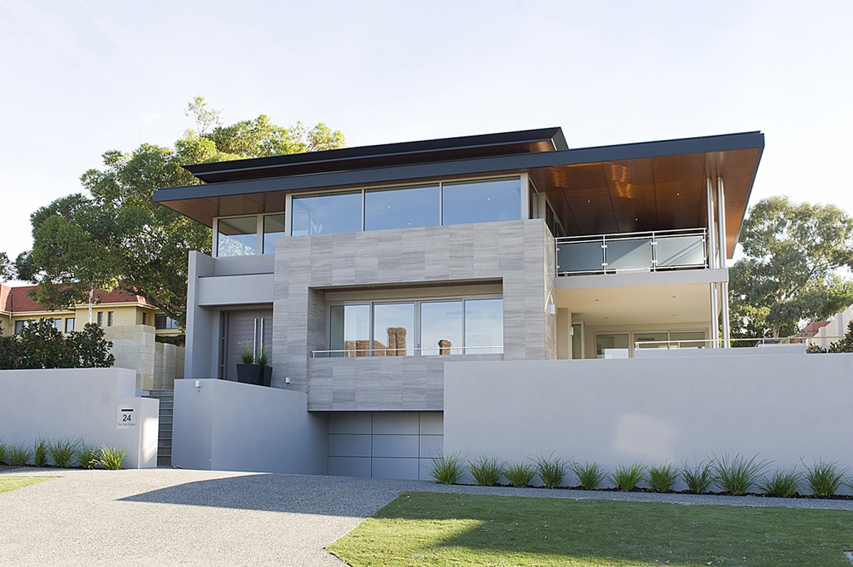 Contemporary custom homes modern luxury homes for Custom home online