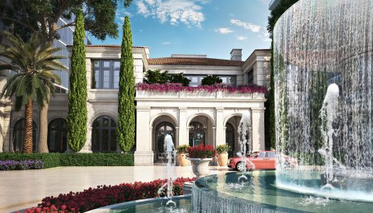 Karl Lagerfeld takes Designer Living to New Heights