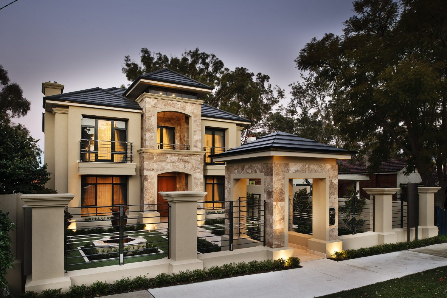 Grand entrances luxury custom home design for Custom home online