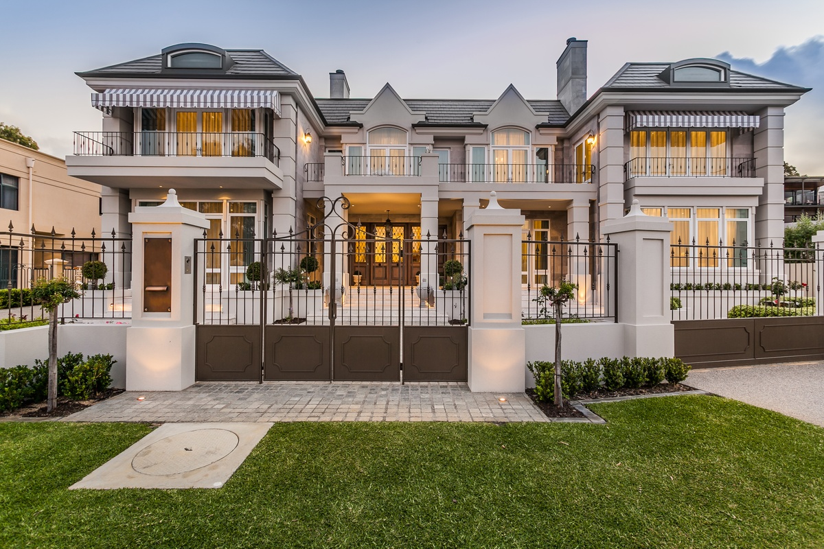 French Provincial Custom Home Perth