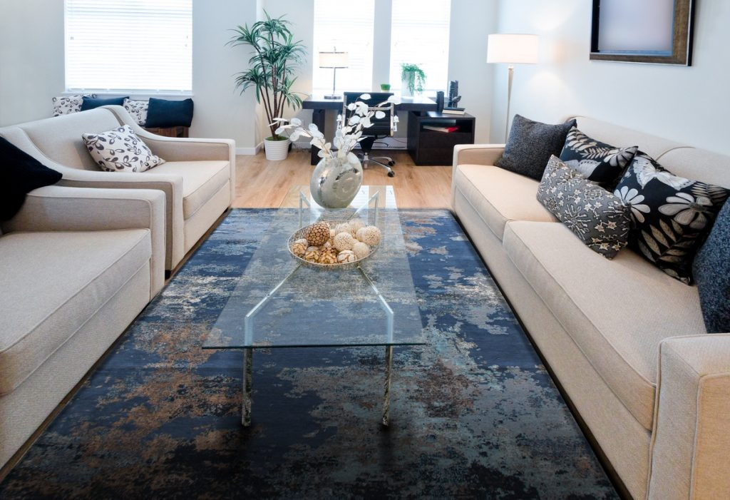 Claremont Sea Custom Rug Design