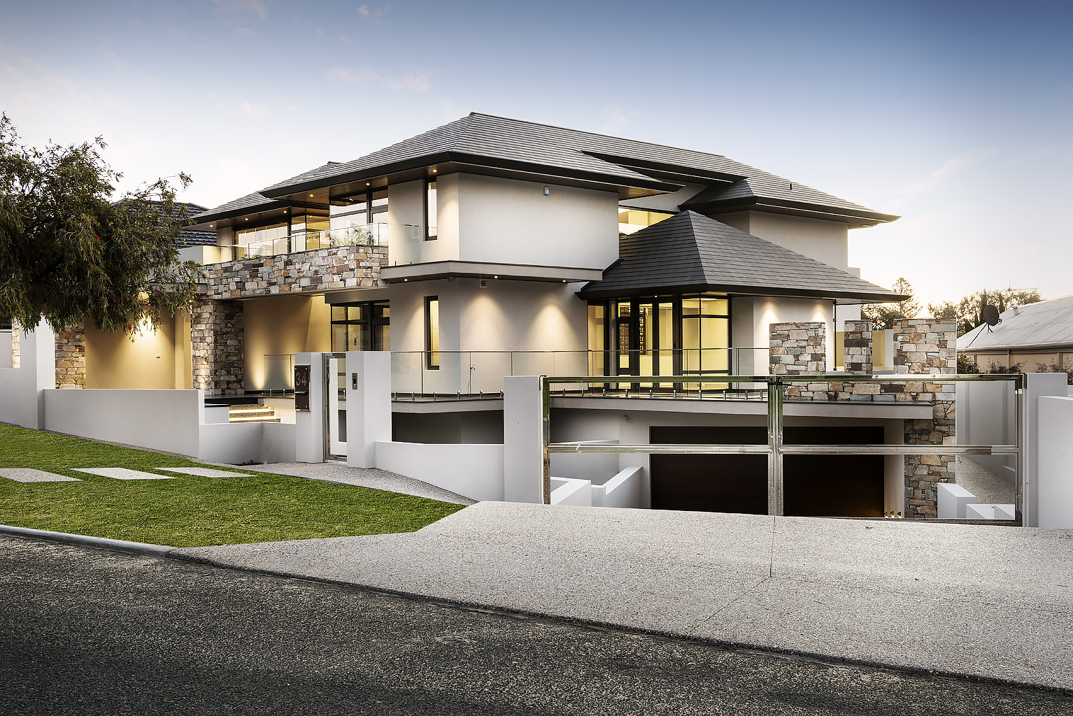 Luxury custom homes perth luxury home city beach for Luxury homes architecture design