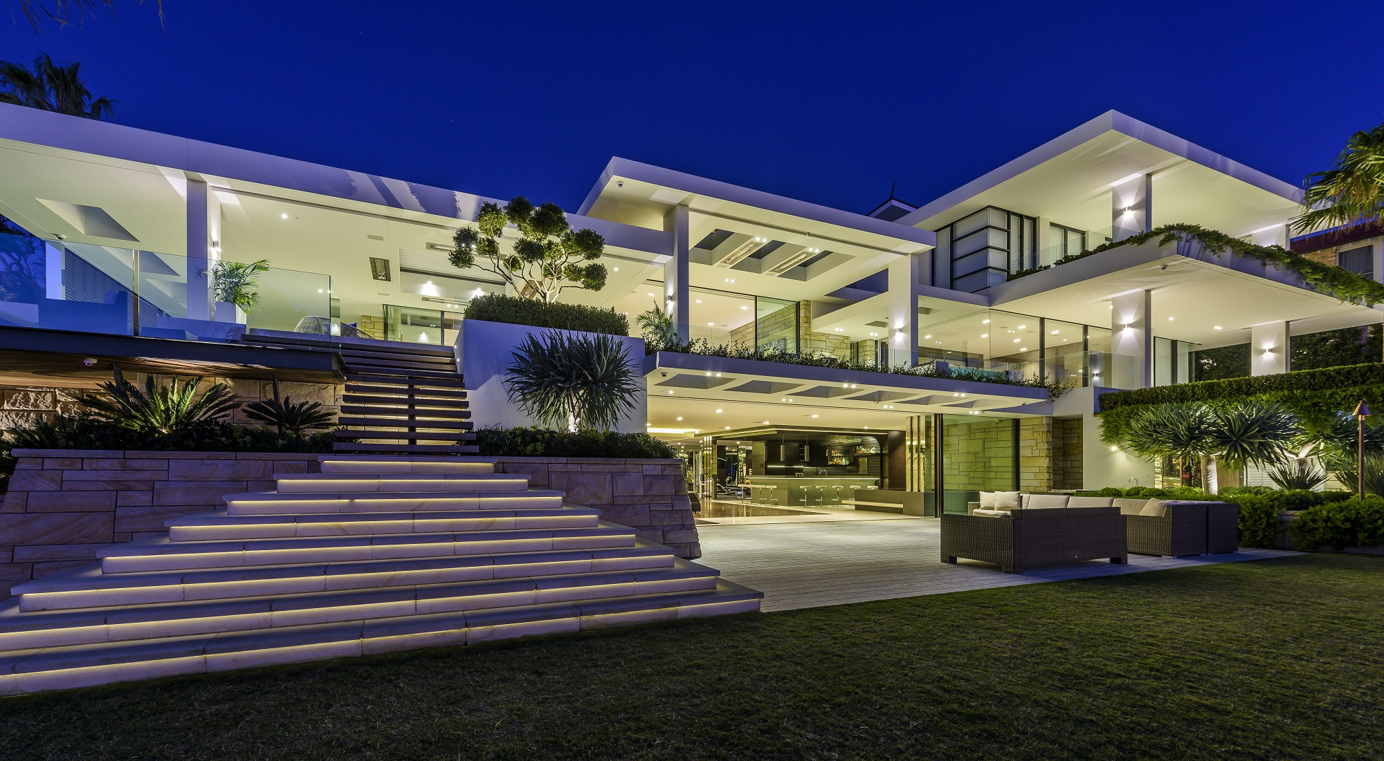 Luxury home burraneer bay nautilus house burraneer bay for Build a custom home online