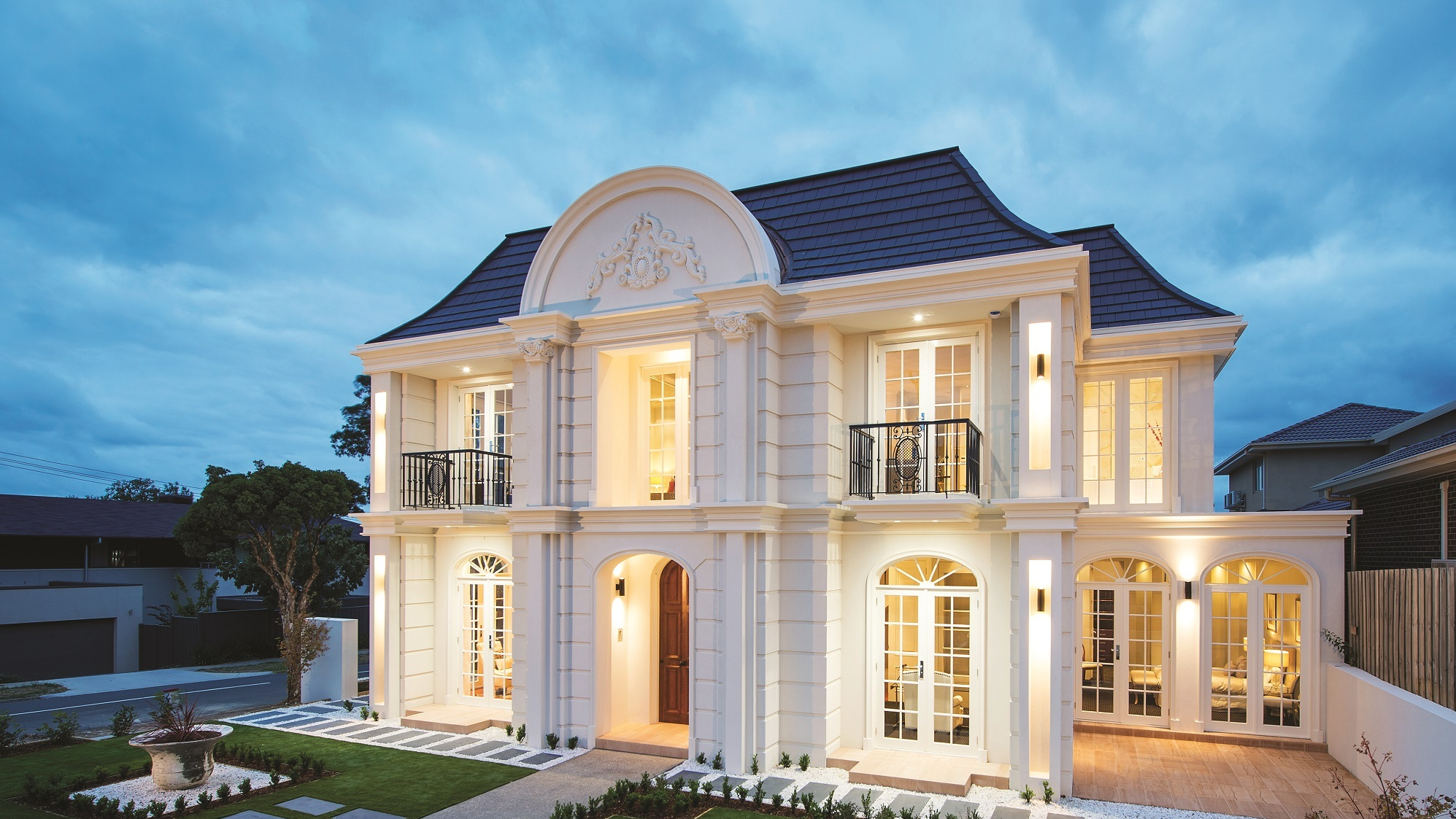 European style custom homes melbourne melbourne custom homes for Custom home online