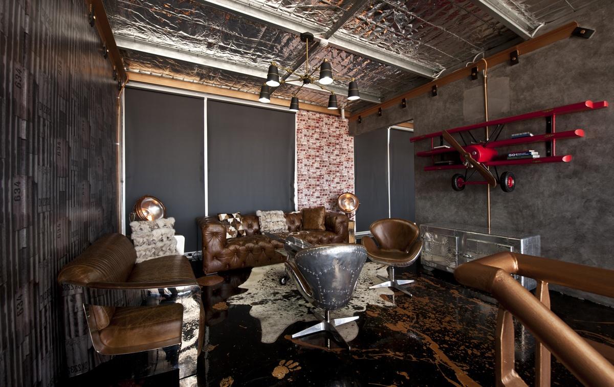 Aviator Style Furniture Custom Homes Magazine