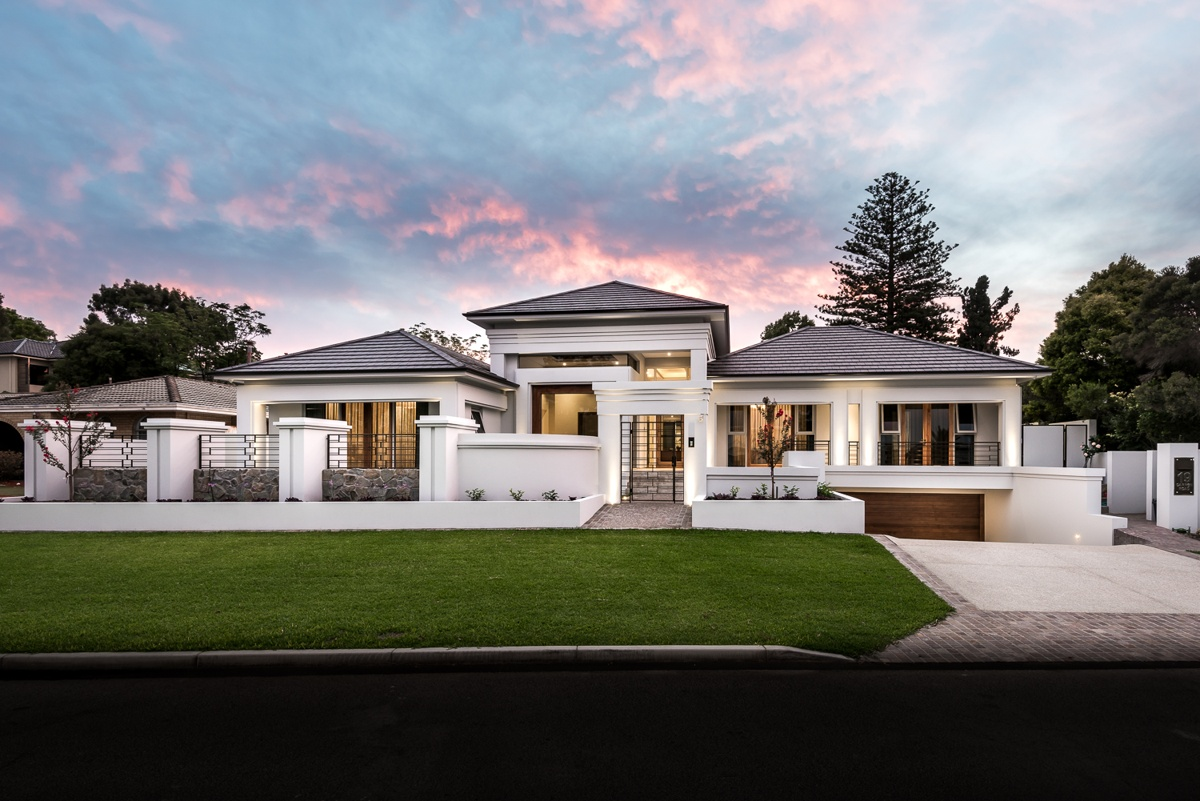 Luxury custom homes perth american style homes perth for Modern custom homes