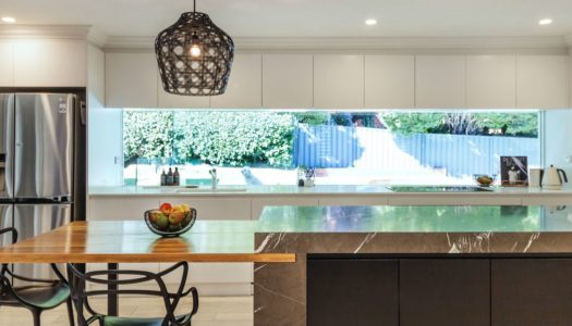 Contemporary Earthy Elements in Sydney Kitchen Reno