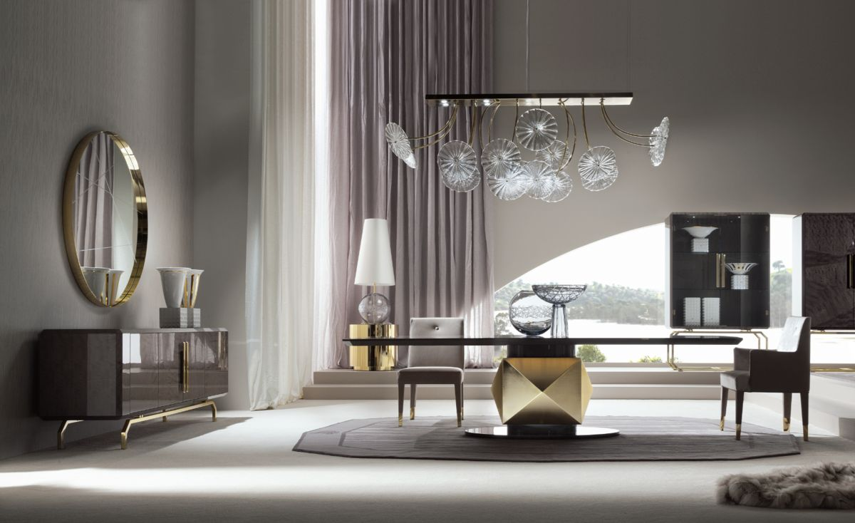 Luxury Italian Furniture, New Infinity Collection From