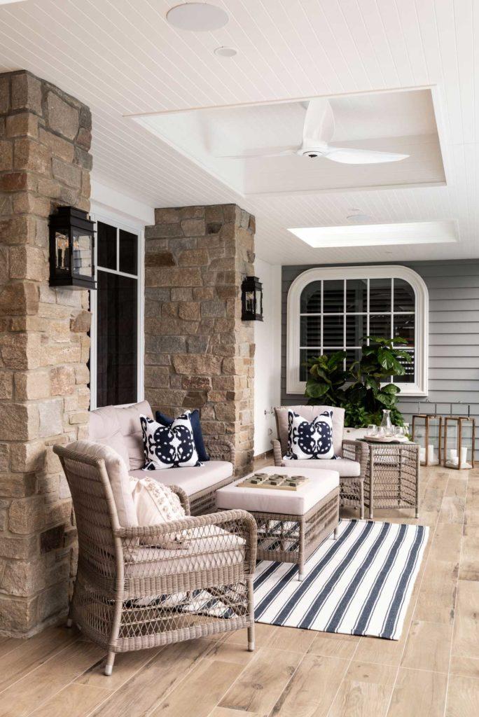 Brian Burke Homes Hamptons Balcony