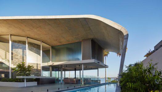 The Riverside Concrete Sail House