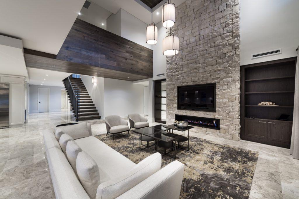 Perth Luxury Builders Lounge Room Zorzi