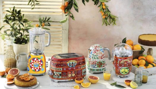 Dolce & Gabbana / Smeg Kitchen Collaboration