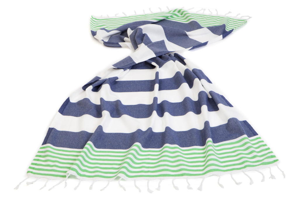 Turkish Towels Green And Blue