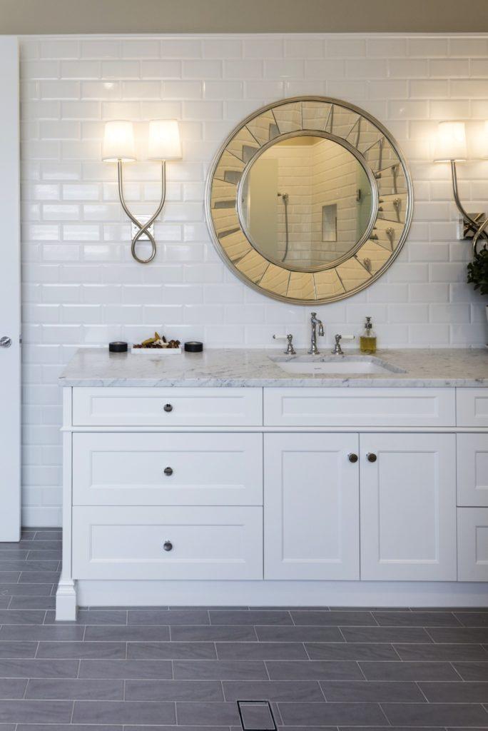 Hamptons Style Bathroom Brisbane Custom Homes