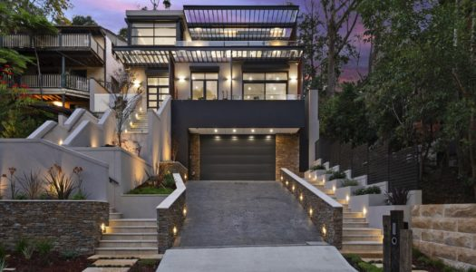 Luxury Delivered On A Sloping Site