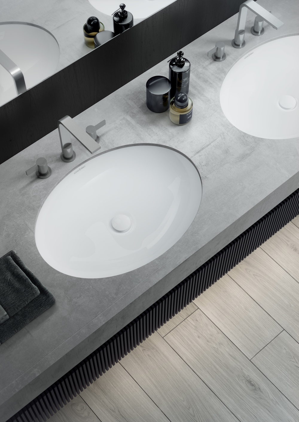 Luxe By Design Oval Bathroom Basins